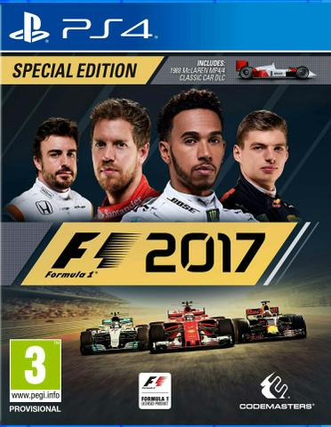 F1 2017 Special Edition Game Jogo PS4