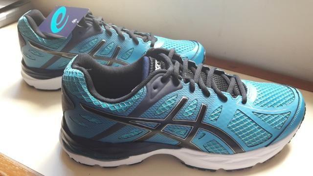 Tênis Asics Gel-Spree - Tam. 44 - Cor Azul - Roupas e calçados ... e88507afee52a