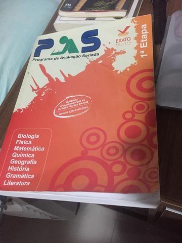 Livro Primeira Etapa PAS