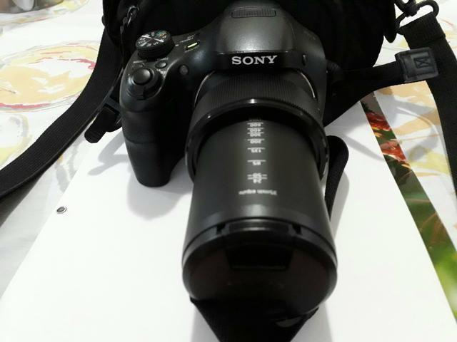 Câmera semi profissional sony HX 300 50x zoom