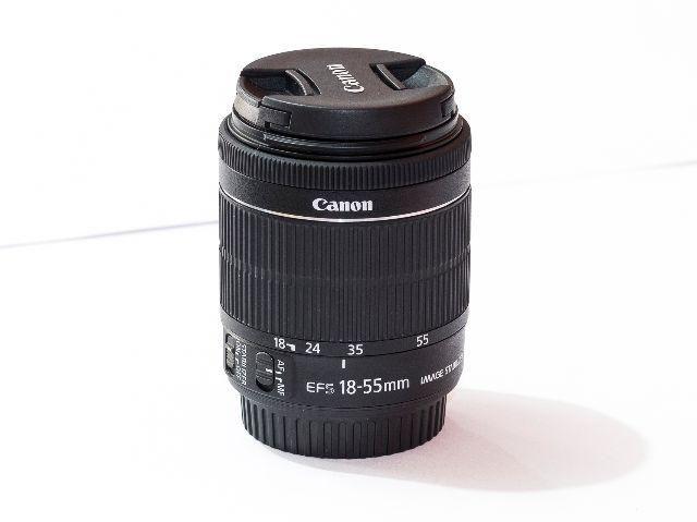 Lente Canon EFs 18-55mm f/3.5-5.6 is STM