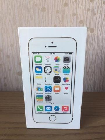 Iphone 5S Gold Novo