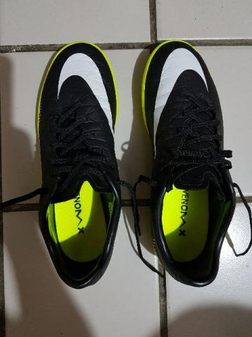 Chuteira Nike HypervenomX Futsal/Quadra