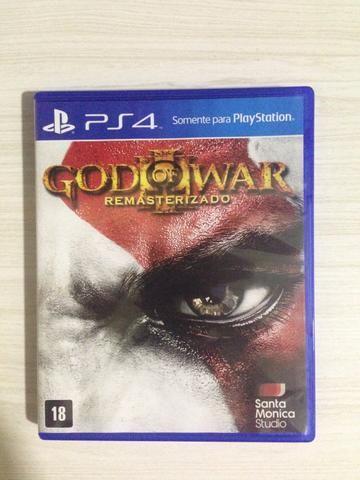 God of War III Remastered para o sistema PS4