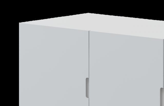 Armário suspenso 3 portas Divicar