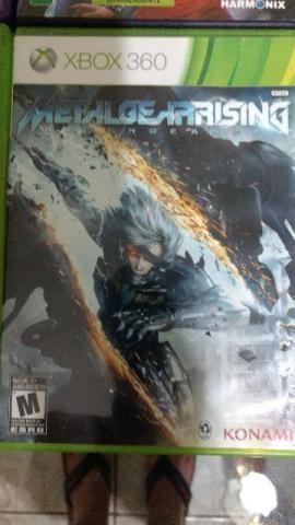 Jogo XBOX 360: Metal Gear Rising Revengeance