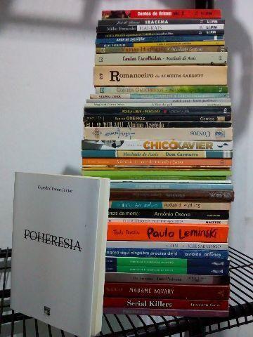 15,00 Cada livro (negociável)