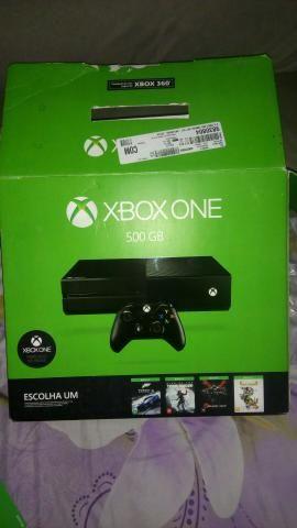 Xbox one (ACEITO TROCAS)