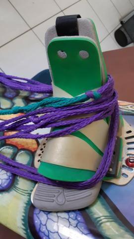 Prancha Wakeboard Liquid Force Trip 38 + botas + quilhas + Corda aquatica - Foto 3