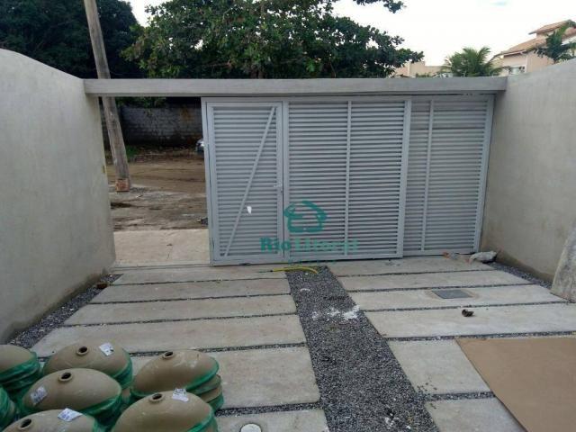 Casa com 3 dormitórios à venda, 115 m² por R$ 370.000 - Ouro Verde - Rio das Ostras/RJ - Foto 5