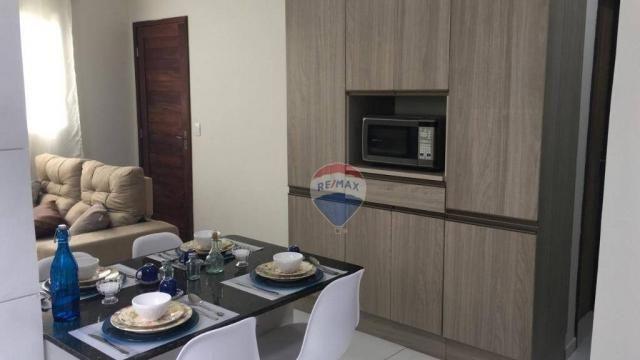 Casa à venda, 60 m² por R$ 110.000,00 - Cidade Jardim - São Gonçalo do Amarante/RN - Foto 5
