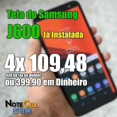 Tela Samsung J6 - Amoled