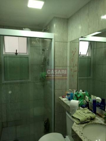 Apartamento com 2 dormitórios à venda, 55 m² por r$ 235.000 - conjunto residencial pombeva - Foto 9