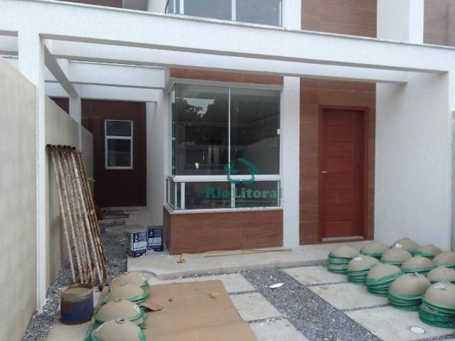 Casa com 3 dormitórios à venda, 115 m² por R$ 370.000 - Ouro Verde - Rio das Ostras/RJ - Foto 4