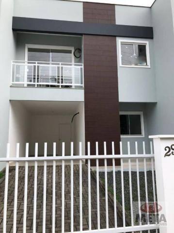 Casa com 3 dormitórios à venda, 110 m² por R$ 300.000,00 - Iririú - Joinville/SC - Foto 2