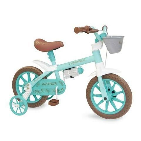 Bicicleta Aro 12 Nathor Feminina c/ Selim de Espuma