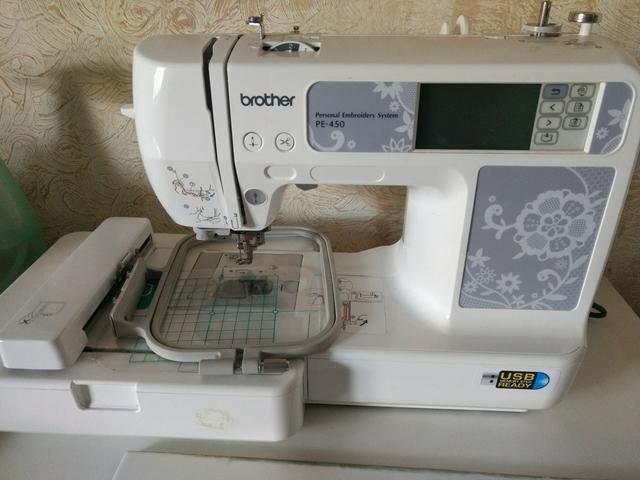 Máquina de bordar Pe 450