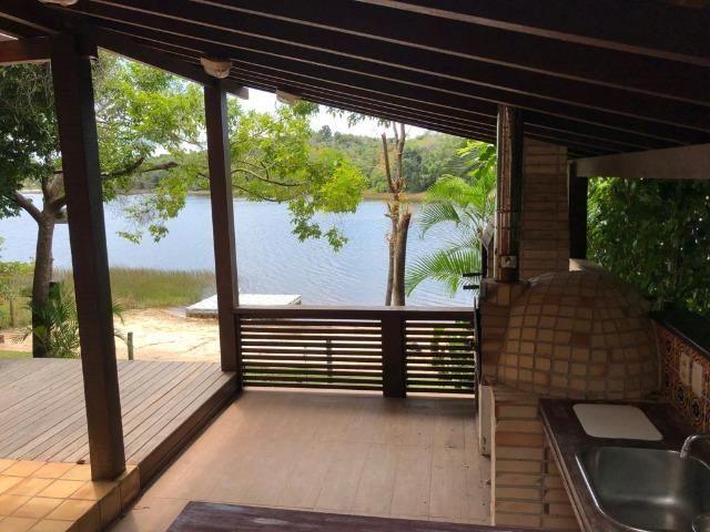 Casa 3/4 Praia do Forte, na beira da lagoa Aruá, contato direto com a natureza - Foto 13