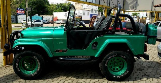 Jeep Willys 4x4 gasolina 1966/66. Muito novo. Raridade! Confira! - Foto 7