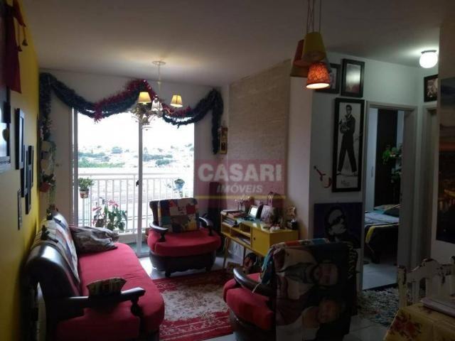 Apartamento com 2 dormitórios à venda, 55 m² por r$ 235.000 - conjunto residencial pombeva