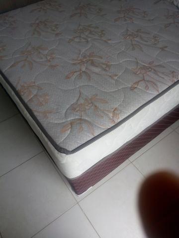 Cama Box Casal de Molas Ensacadas com 04 meses de uso - Foto 3