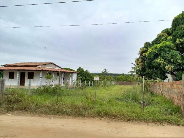 Momento oportuno de comprar um terreno com água , energia, internet , ônibus em frente