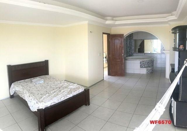 Casa duplex com 3 quartos, vista mar, 6 vagas, nascente, piscina, Bairro de Lourdes, Dunas - Foto 6
