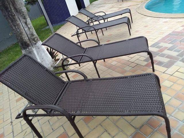 Mobília para sua piscina fabricação e recorma - Foto 2