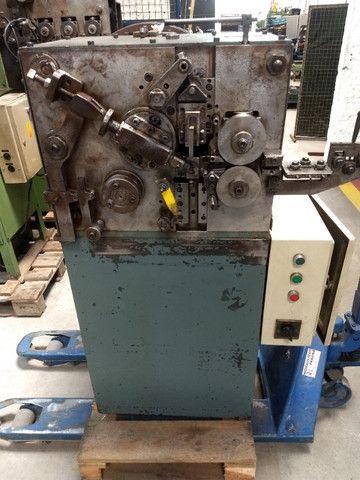 Máquina para produzir molas Carjac MC1 1987 arame 0,5 a 1,6 mm - Foto 3