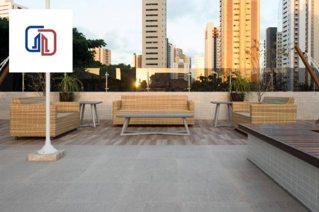 Apartamento com 2 dormitórios à venda, 62 m² por R$ 377.137 - Manaíra - João Pessoa/PB - Foto 5