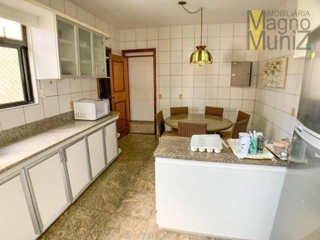 Apartamento com 4 dormitórios para alugar, 303 m² por R$ 4.200,00/mês - Aldeota - Fortalez - Foto 11