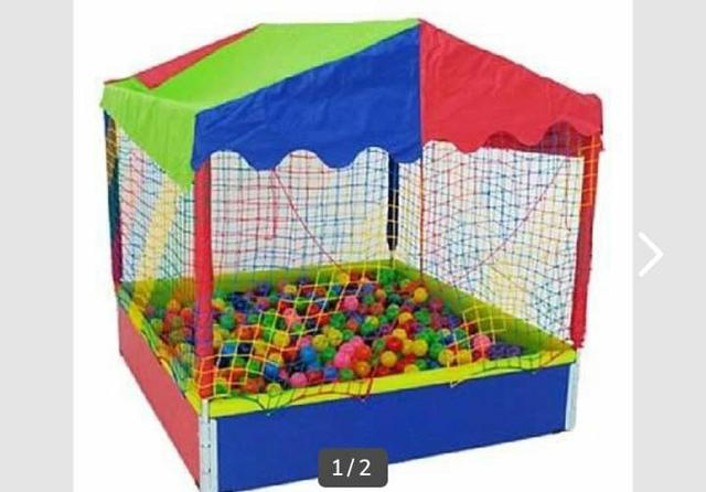 Locação de cama elástica e piscina de bolinha - Foto 2