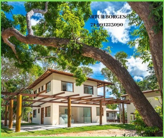 Pronto para morar Casa 4 Suítes na Praia forte, aceito seu imóvel permuta - Foto 8