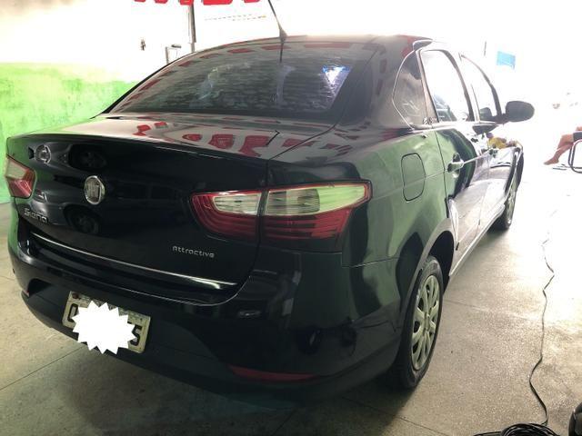 Fiat-Grand Siena Attractiv 1.4 8v Flex-2013 - Foto 6