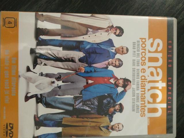 DVD Snatch Porcos e Diamantes