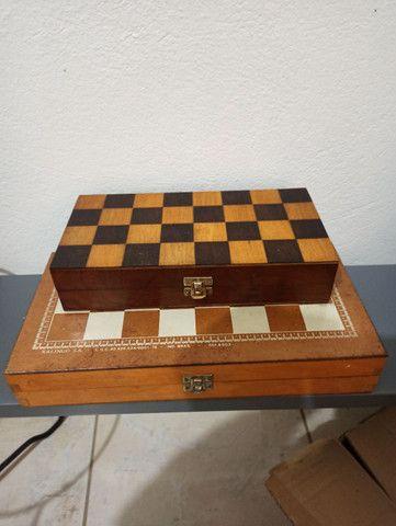 Jogo de chadrez antigo