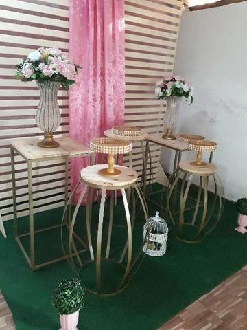 Vendo móveis para decoração de festas em perfeito estado de conservação - Foto 3