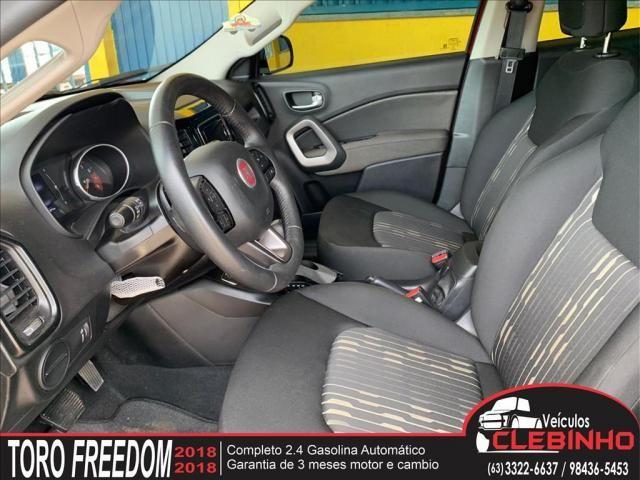 FIAT TORO 2.4 16V MULTIAIR FLEX FREEDOM AUTOMÁTICO - Foto 7