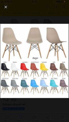 Cadeira 2 por 100 na cor bronze