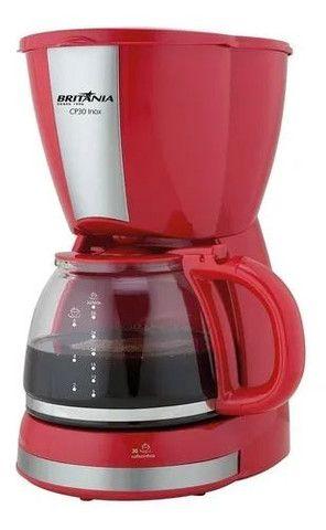 Cafeteira Britânia CP30 Inox vermelha 110V<br><br> - Foto 2