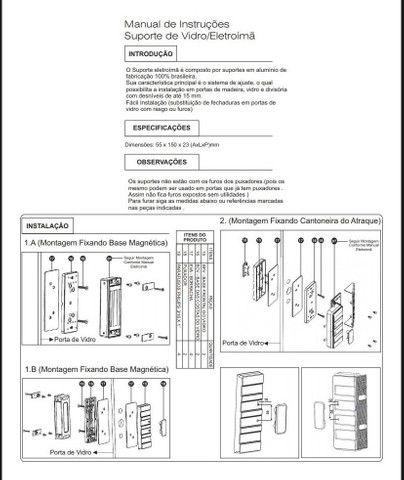 Fechadura Eletromagnética Trava Eletroimã Agl - Foto 4