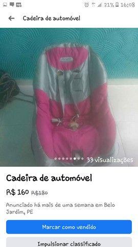 Cadeira Infantil Veiculo - Foto 2