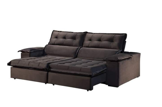 Sofa retratil e reclinavel Sao Gonçalo SUP819 - Foto 3