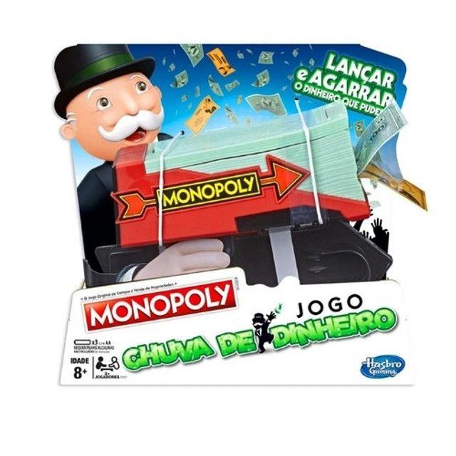 Jogo Monopoly Chuva De Dinheiro