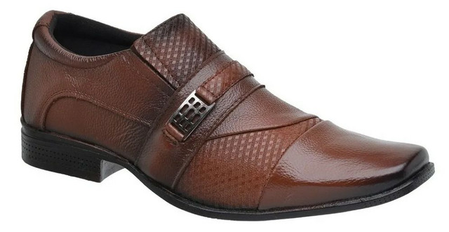 Sapato social couro bovino