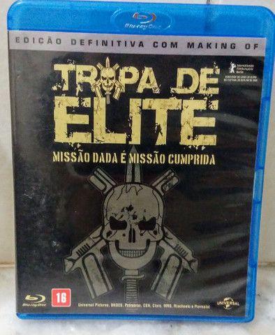 Blu-Ray Original - Tropa de Elite