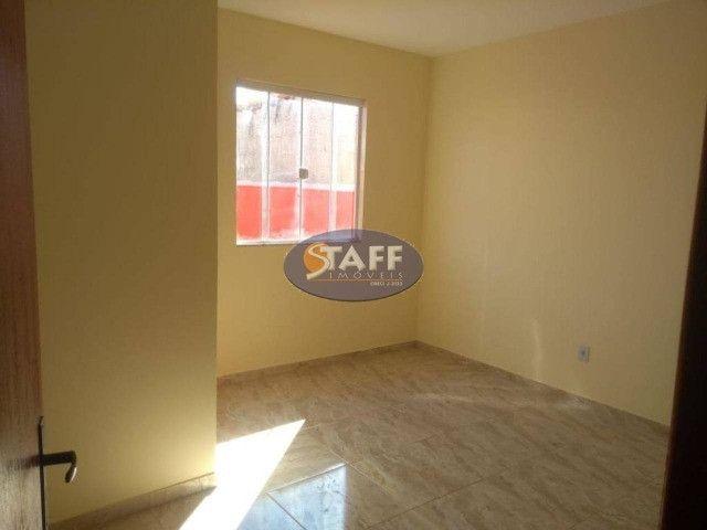 KA- Casa na Planta e com 2 quartos e suíte, em Condomínio, por R$ 100.000 - Unamar - Foto 6