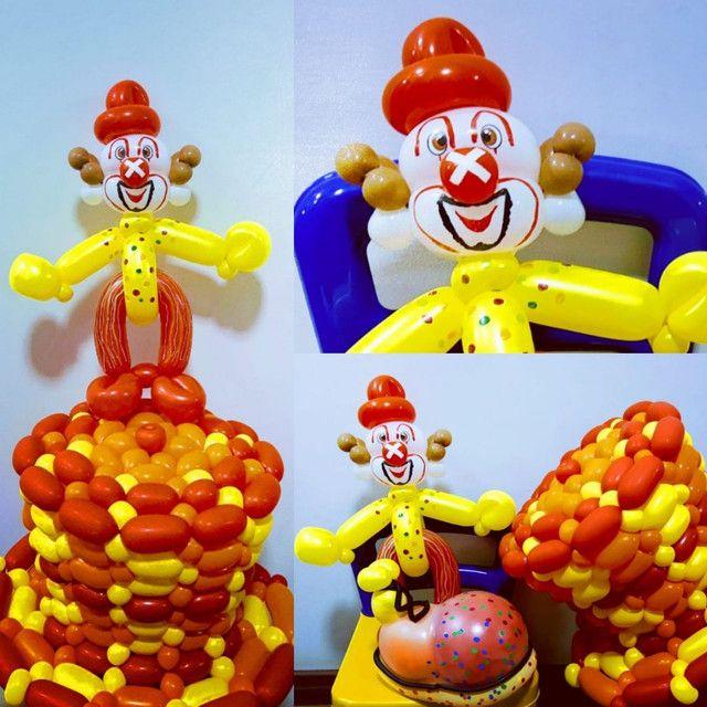 Esculturas com balões. - Foto 5
