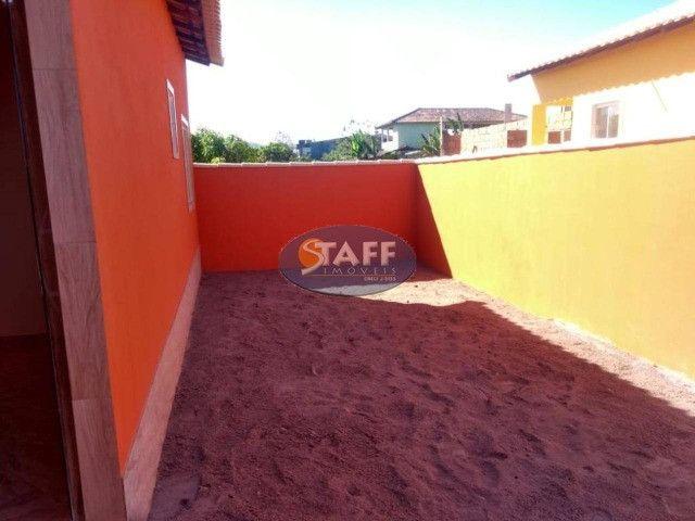 KA- Casa na Planta e com 2 quartos e suíte, em Condomínio, por R$ 100.000 - Unamar - Foto 11