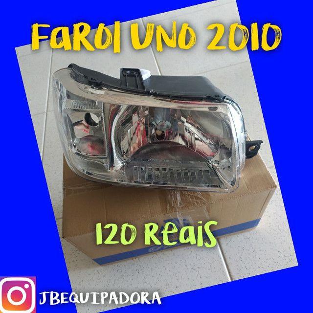 Farol uno 2010 por 120 reais.